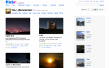 Screenshot of Flickr Galleries
